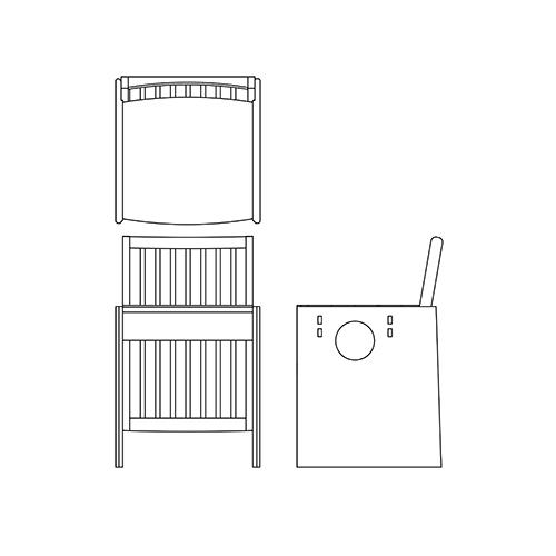 CubeChair 図面