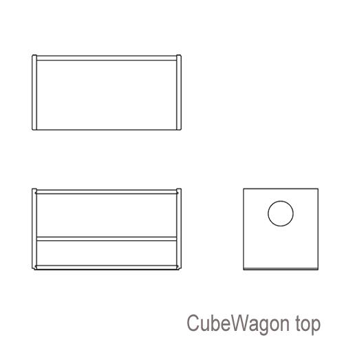 CubeChair 図面Top